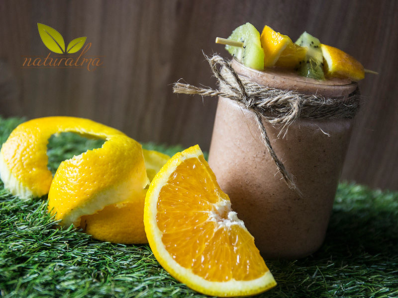 batido kiwi naranja borojo fresa