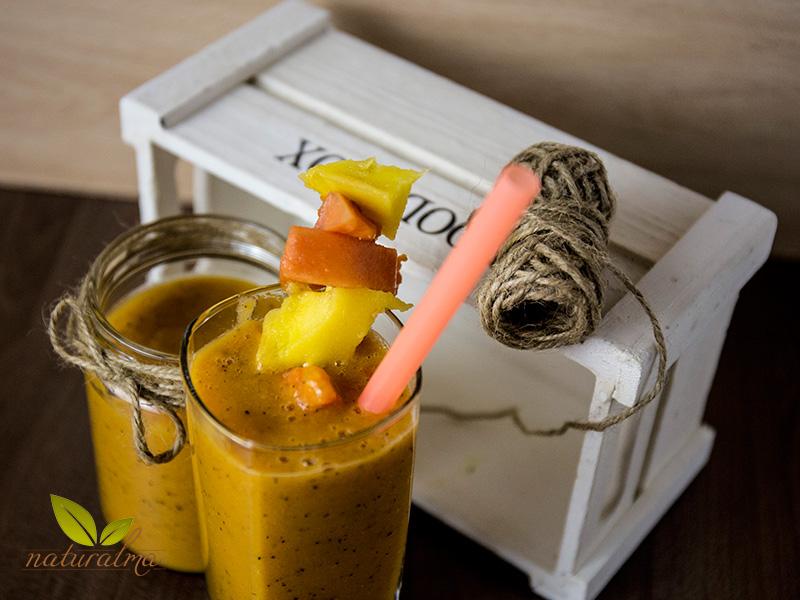 batido mango papaya maracuya