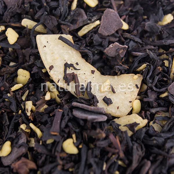 te negro coco chocolate